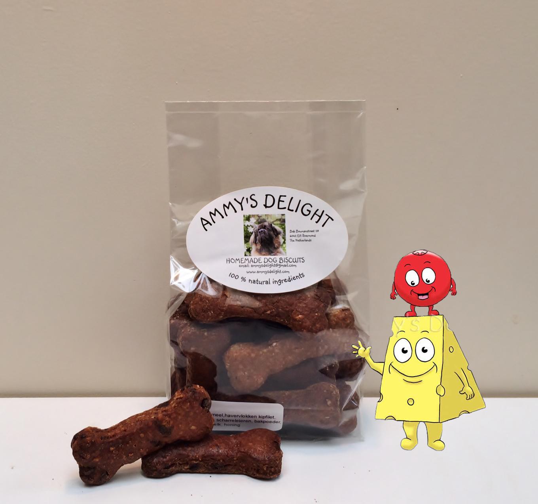 Middle bones, medium large dog biscuits